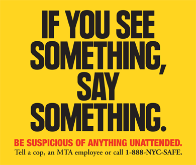 If You See Something SaySomething